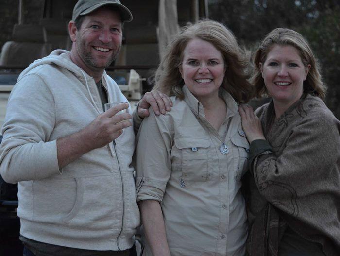 Friends on Safari