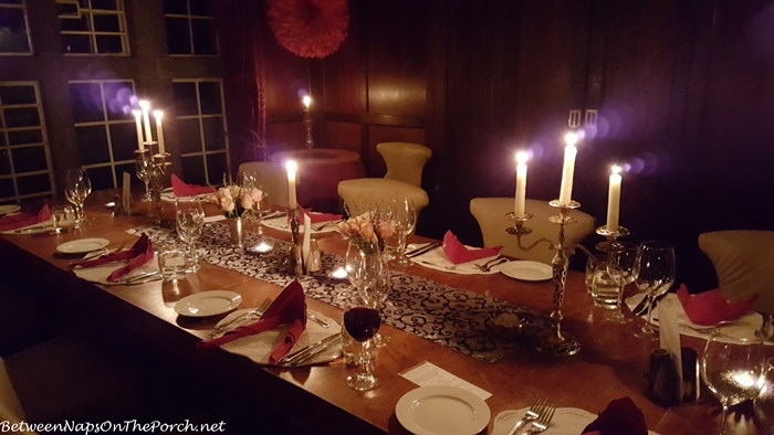 Giraffe Manor Candlelit Dining Room
