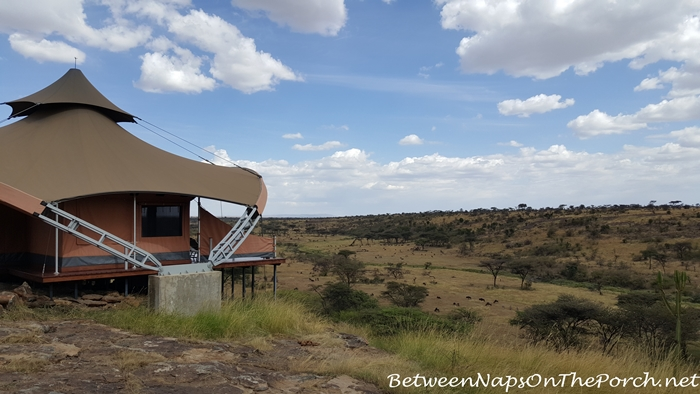 Mahali Mzuri Tent and View_wm