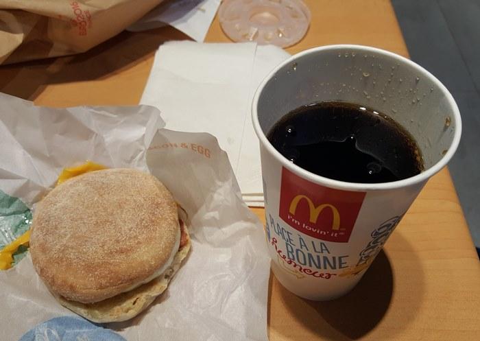 McDonalds in Paris