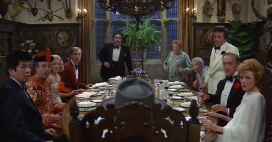 Murder by Death Dining Room Scene
