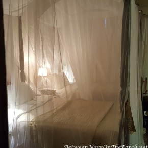 Romantic Bed with Mosquito Netting