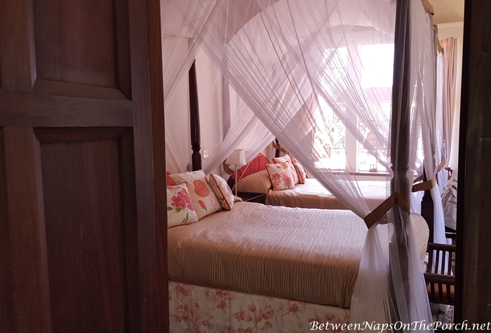 Romantic Bedroom with Mosquito Netting