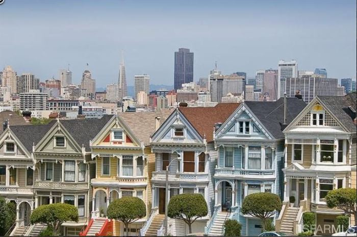 san francisco painted lady is for sale take the tour. Black Bedroom Furniture Sets. Home Design Ideas