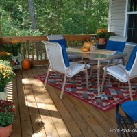 Refreshing The Porch For Autumn Joy
