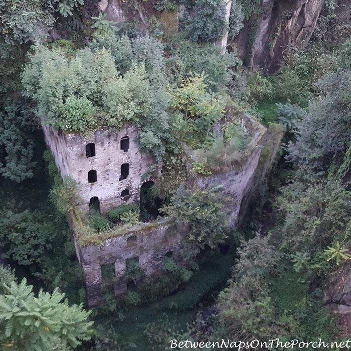 Abandoned Mill in Vallone dei Mulini, Sorrento Italy