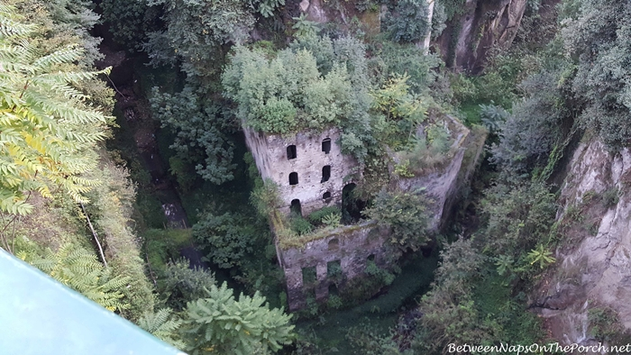 Abandoned Mill in Vallone dei Mulini, Sorrento