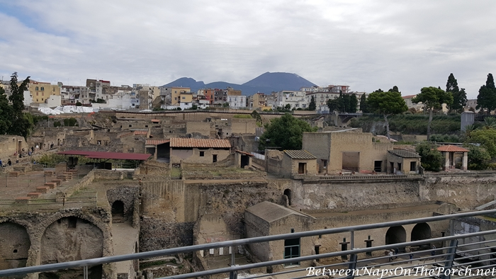 City built above Herculaneum Ruins