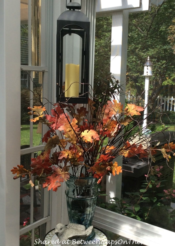 Fall Decorating Ideas For The Porch Or Sunroom