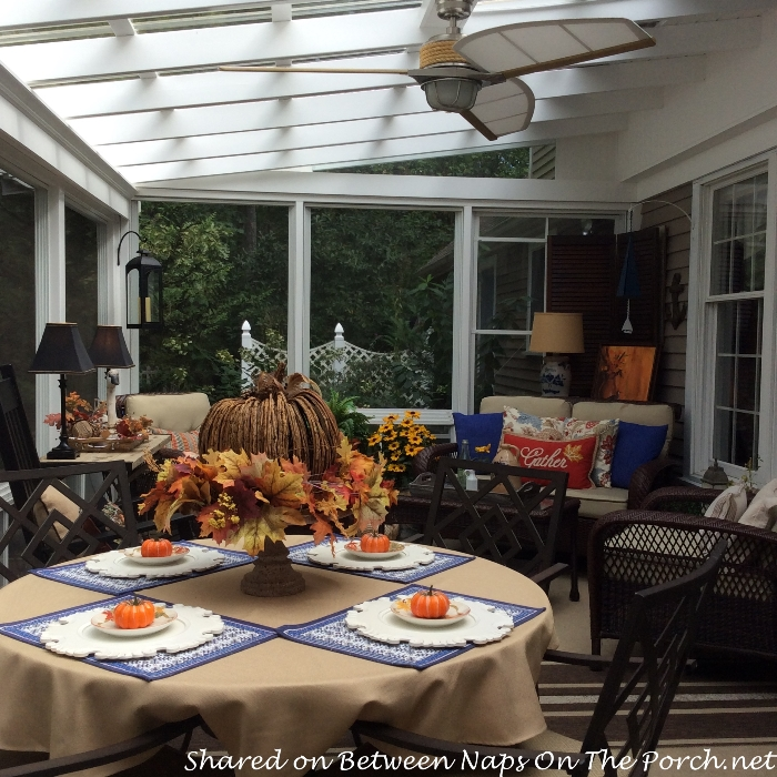 5 Ways To Decorate Your Deck With Plants: Fall Decorating Ideas For The Porch Or Sunroom