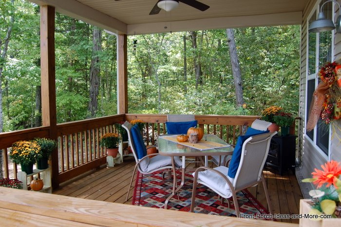 Decorate a Porch for Autumn