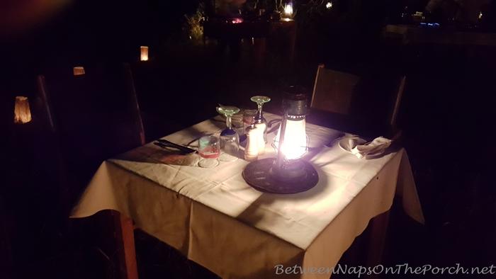 Dinner in the Bush White on Safari in Kenya, Africa 02