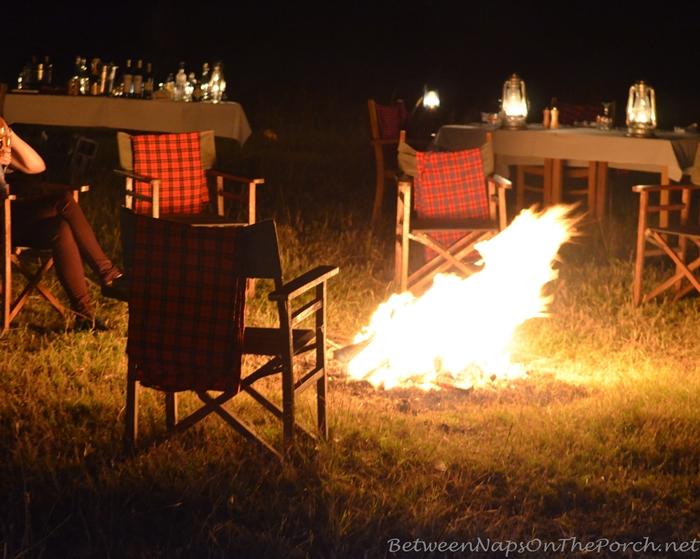 Dinner in the Bush White on Safari in Kenya, Africa 12