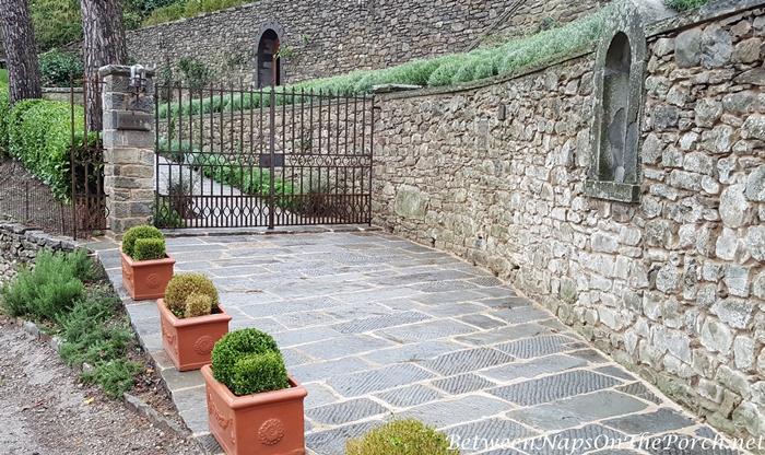 Driveway of Bramasole, Villa Home in Cortona Italy