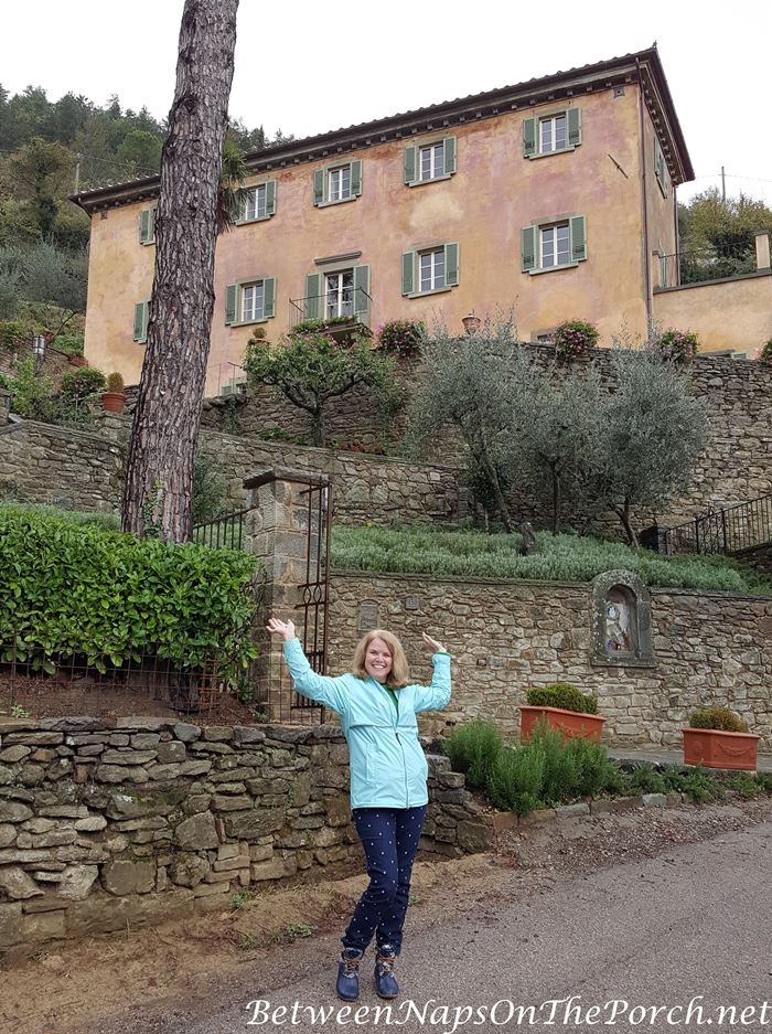 Frances Mayes Tuscan Home, Bramasole, in Cortona