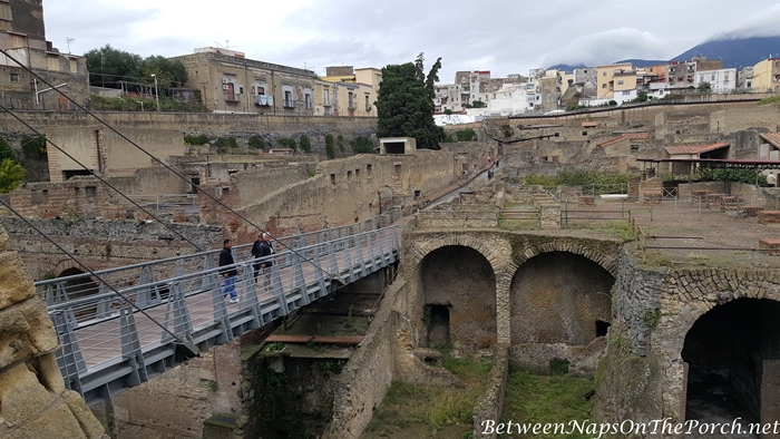 Herculaneum Ruins, Murals and Architecture 05