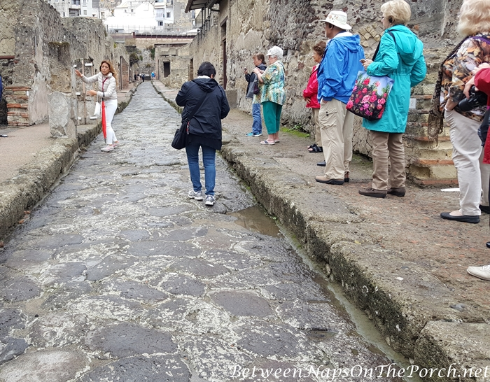 Herculaneum Ruins, Murals and Architecture 10