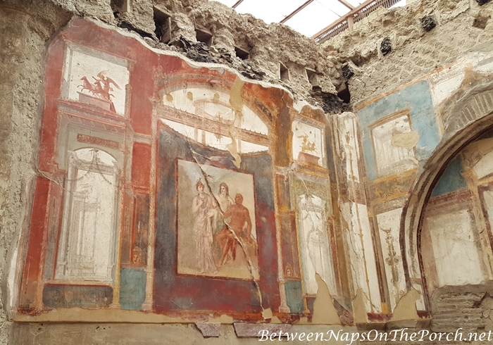 Herculaneum Ruins, Murals and Architecture 17