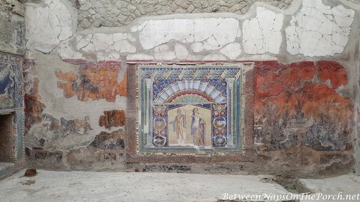 Herculaneum Ruins, Murals and Architecture 23