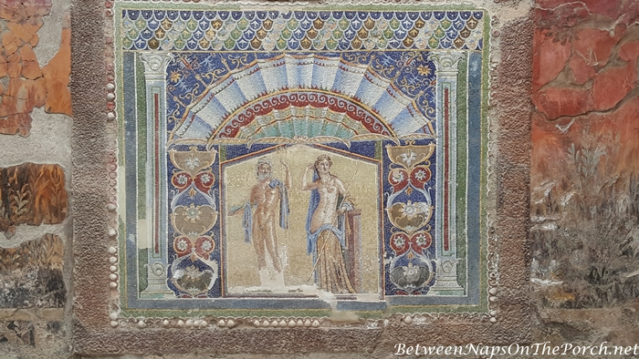 Herculaneum Ruins, Murals and Architecture 24
