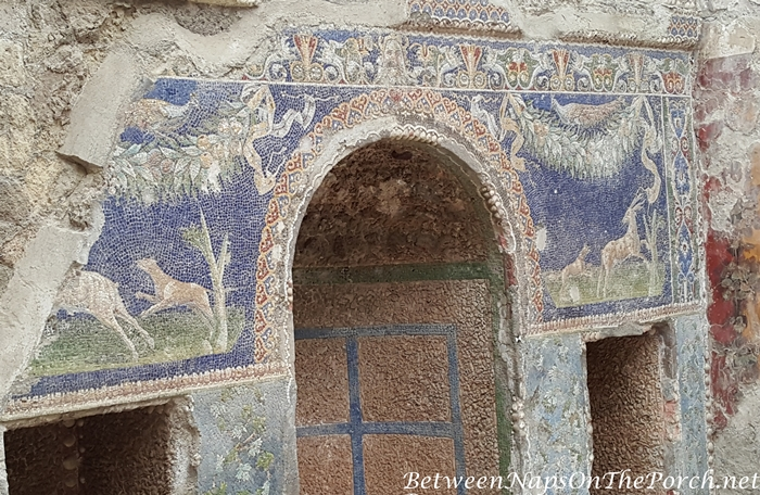 Herculaneum Ruins, Murals and Architecture 25