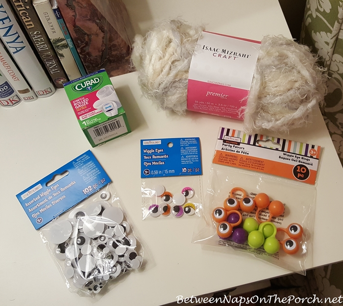 Mummy Candle Holder Supplies