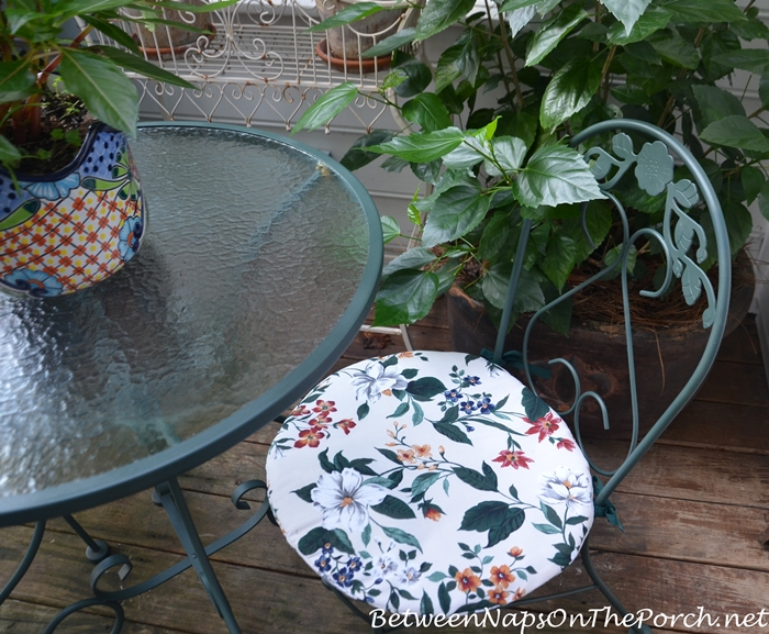 Outdoor Furniture Makeover