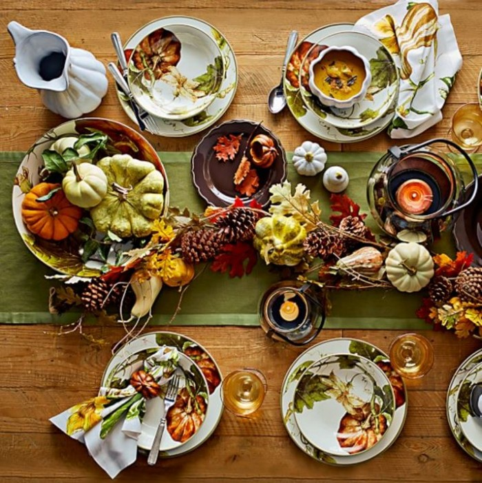 Pumpkin Thanksgiving China Dishware