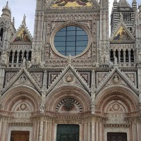 Inside the Siena Cathedral and the Piccolomini Library, Italy