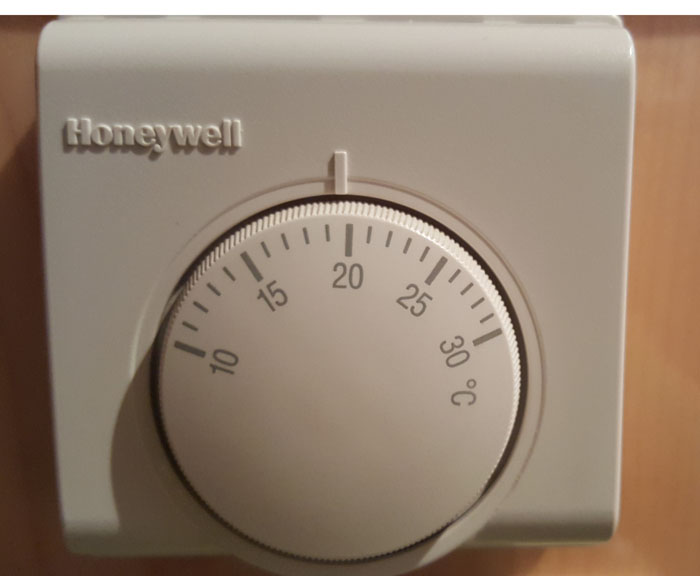 Thermostat in Celsius
