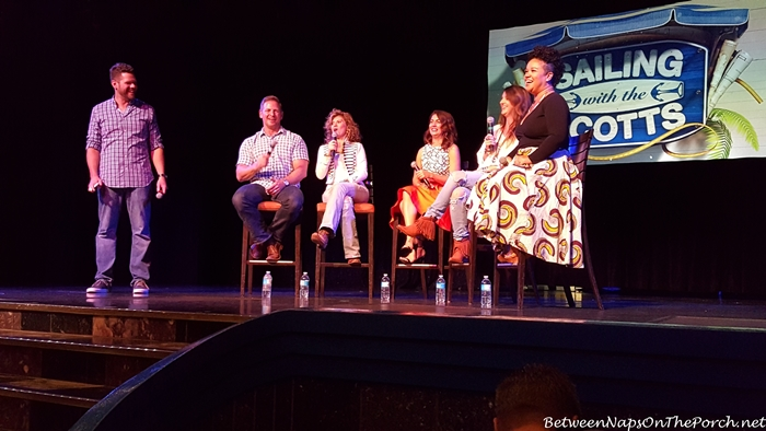 Jason Camerson, Amie Sikes, Jillian Harris, Jolie Sikes, Kim Miles, Sailing with the Scotts Cruise