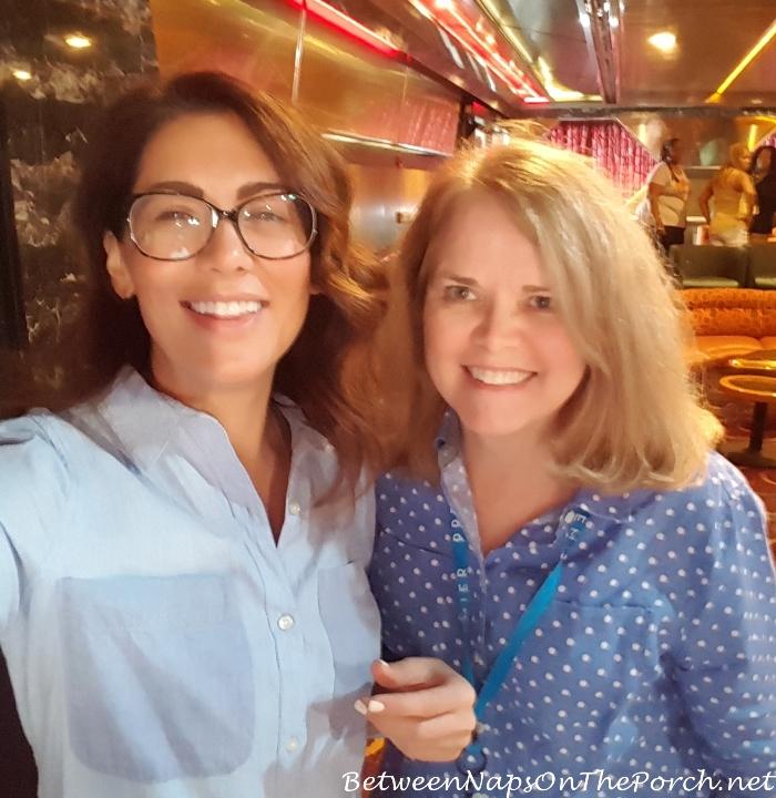 Jillian and Susan, Sailing with the Scotts