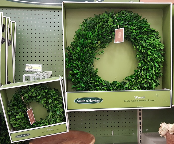 Preserved Boxwood Wreaths at Target