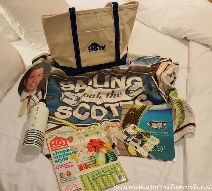 Sailing With The Scotts Goody Bag