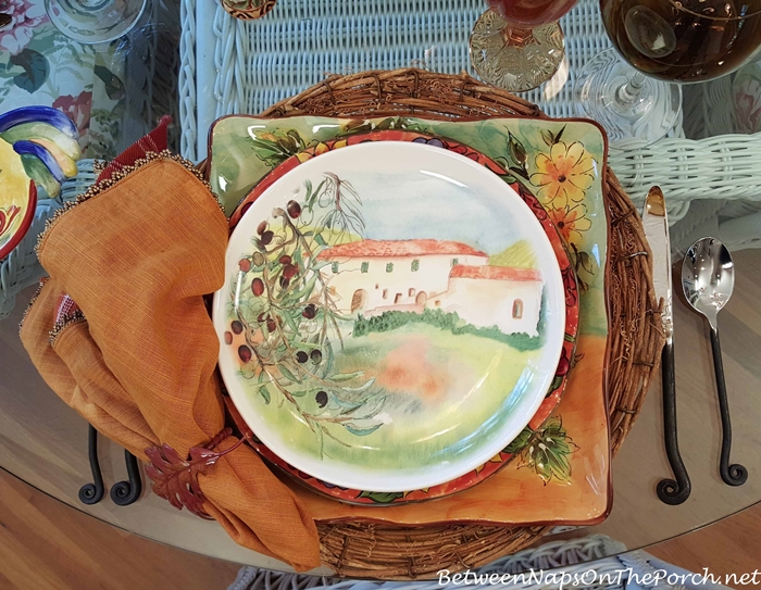 Salad Plate by Ceramisia, Made in Italy
