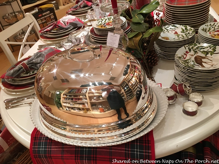 Silver Plated Dome for Holiday Dinners