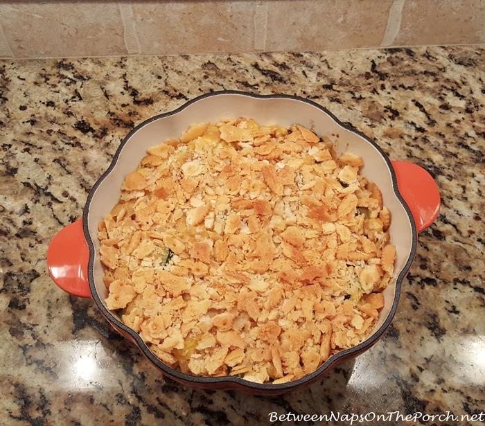 Squash Casserole Recipe by Paula Deen