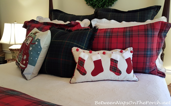 Decorate With Christmas Pillows