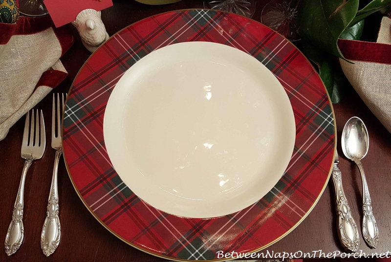 Williams-Sonoma Tartan Chargers