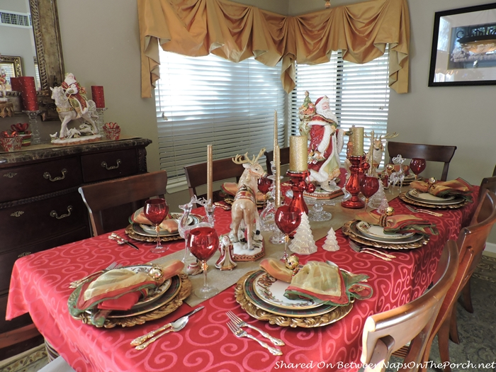 Christmas Tablescape Lenox Holiday Tartan & Christmas Table Setting: Lenox Holiday Tartan u0026 Beautiful Fitz and ...