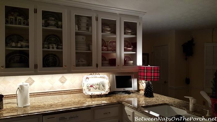 Cozy Lighting in Kitchen at Night