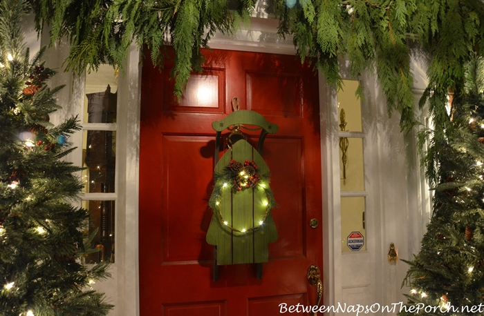 Decorate For Christmas with Sled