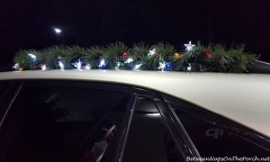 Decorate Your Car for Christmas Home Tour