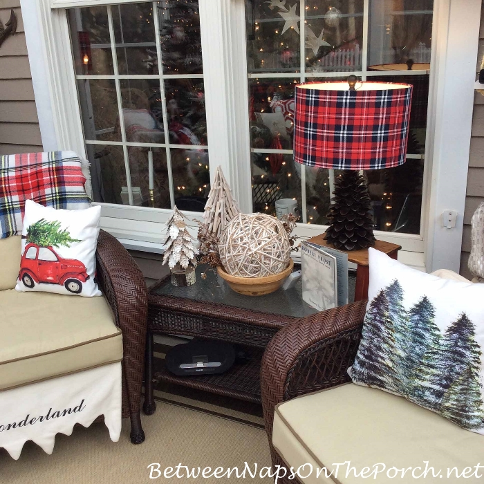 Decorate a Porch for Christmas