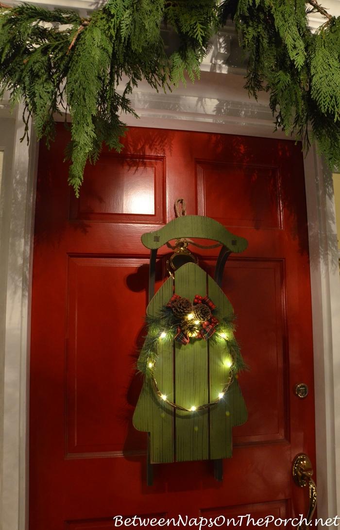 Door Decorating Idea for Christmas