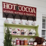DIY Hot Cocoa Sign for a Hot Chocolate Bar: A Tutorial