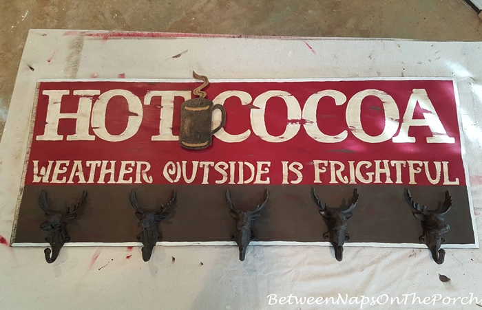Make a Hot Cocoa Sign for Hot Chocolate Bar