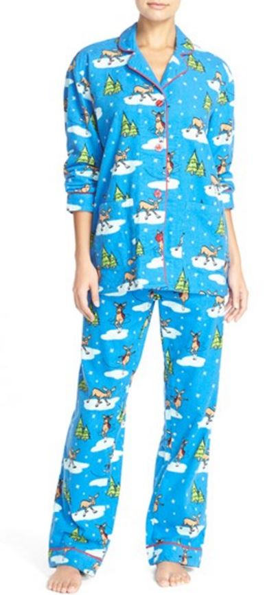 P J Salvage Flannel PJs