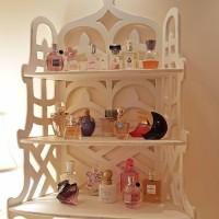 A Bathroom Update & Perfume Storage