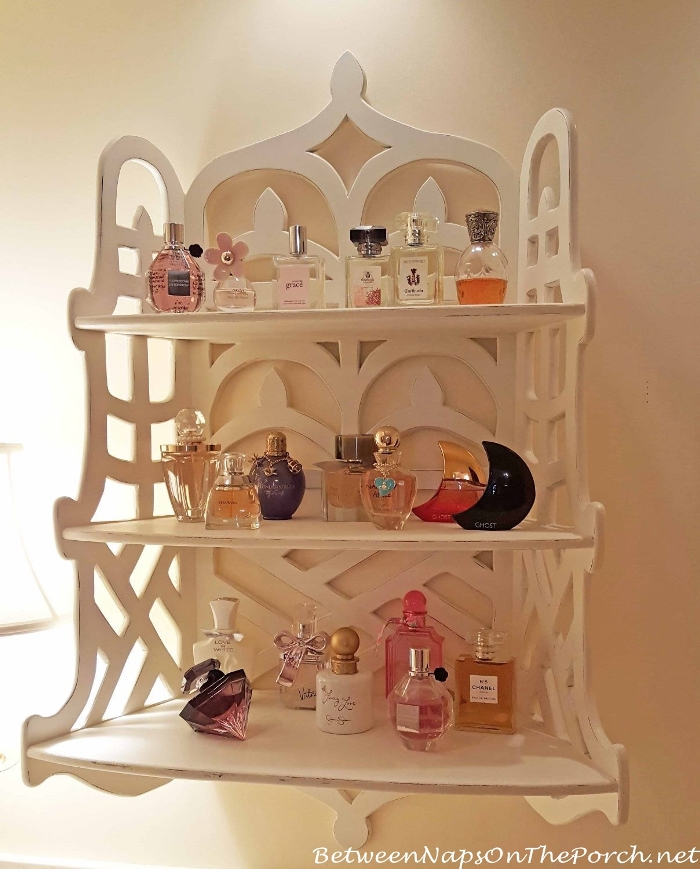 Beautiful Way To Display And Store Perfume